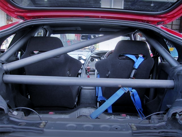 ROLL CAGE INSTALLED JZA80 SUPRA RZ.