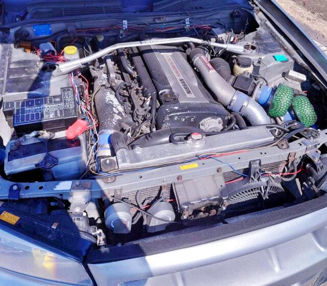 RB26 2.6L TWINTURBO ENGINE.