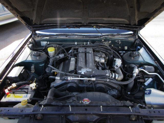 VG30DET 3.0L DOHC V6 TURBO ENGINE.