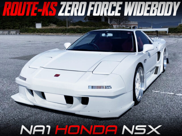 ROUTE-KS ZERO FORCE WIDEBODY INSTALLED NA1 HONDA NSX.