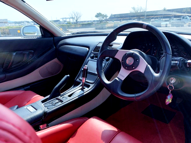 INTERIOR OF NA1 NSX.