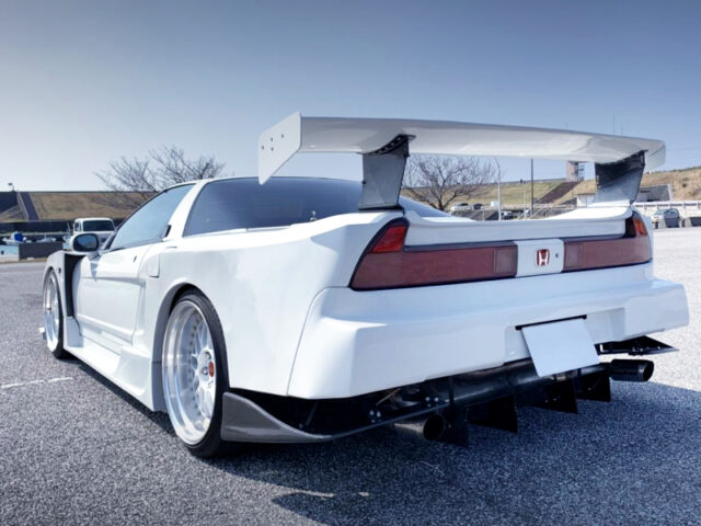REAR EXTERIOR OF NA1 NSX ZERO FORCE WIDEBODY.