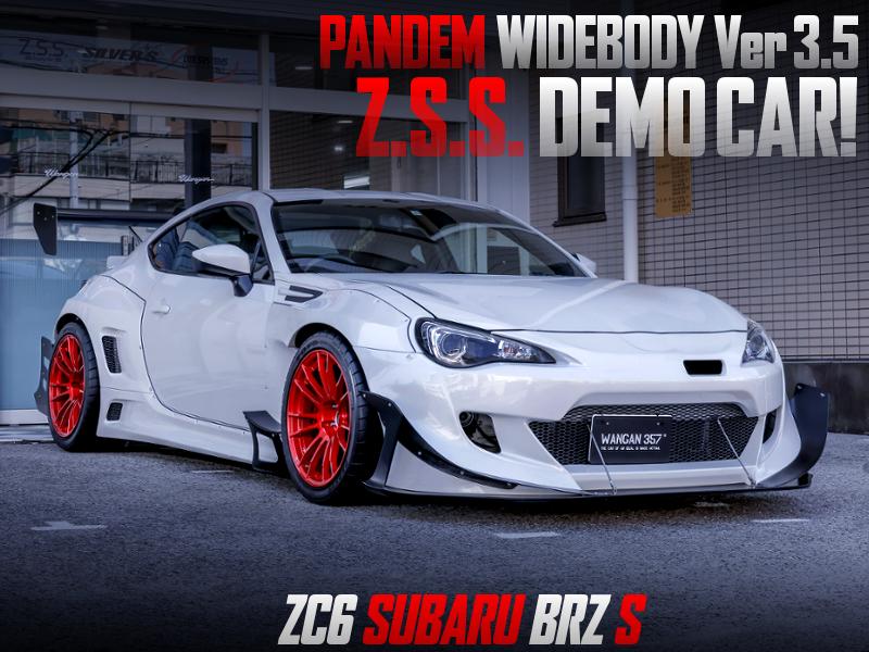 ZSS DEMOCAR OF SUBARU BRZ OF PANDEM WIDEBODY Ver 3.5.