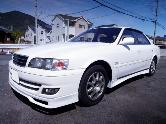 FRONT EXTERIOR OF JZX100 CHASER 2.5 AVANTE LORDLY.