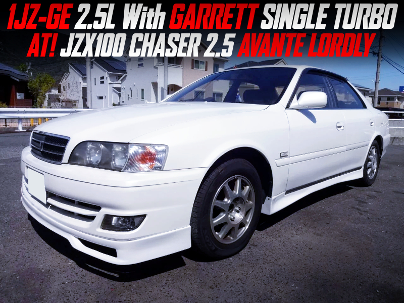 1JZ-GE 2.5L With GARRETT SINGLE TURBO into JZX100 CHASER 2.5 AVANTE LORDLY.