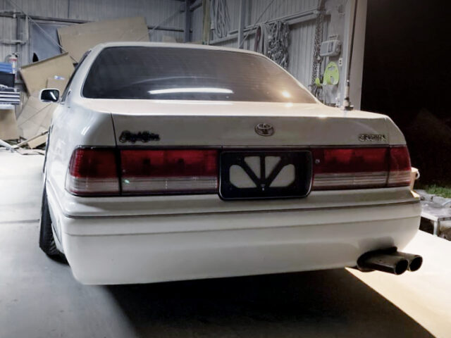 REAR EXTERIOR OF S150 CROWN.