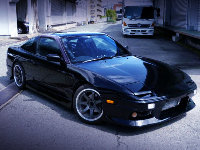 FRONT EXTERIOR OF RPS13 180SX TYPE-3.