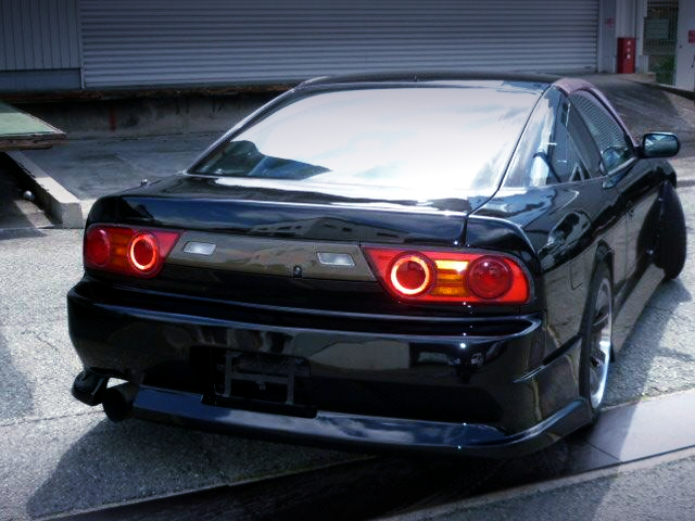 REAR EXTERIOR OF RPS13 180SX TYPE-3.