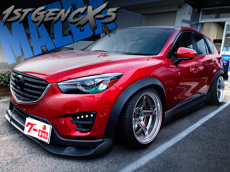 CAMBER MODIFIED 1st Gen CX-5 20S.