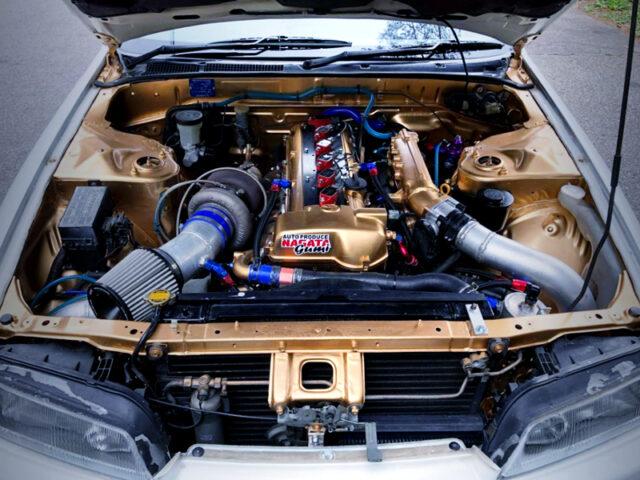 2JZ-GTE ENGINE with TO4Z SINGLE TURBO.