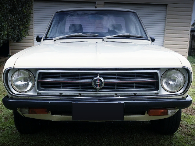 FRONT FACER OF DATSUN 1200 UTE TO JDM SUNNY TRUCK.