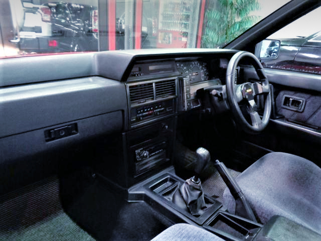 INTERIOR OF 7th Gen R31 SKYLINE 2-DOOR.