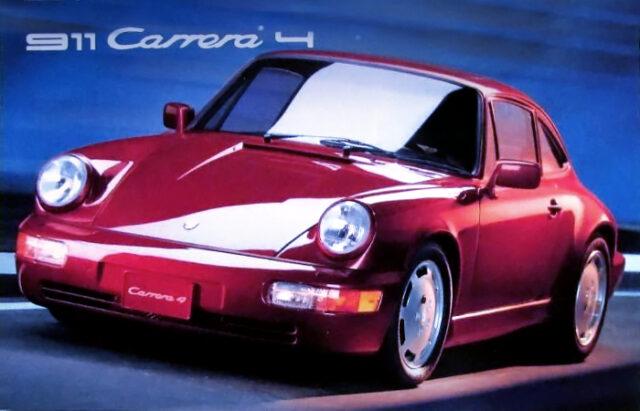 TYPE-964 PORSCHE 911 CARRERA 4.