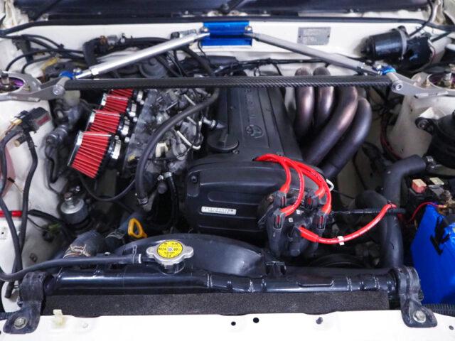 20-VALVE 4AGE 1600cc ENGINE.