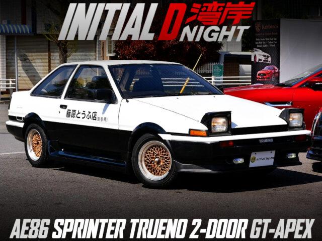 INITIAL-D WANGAN NIGHT MODIFIED AE86 TRUENO 2-DOOR GT-APEX.