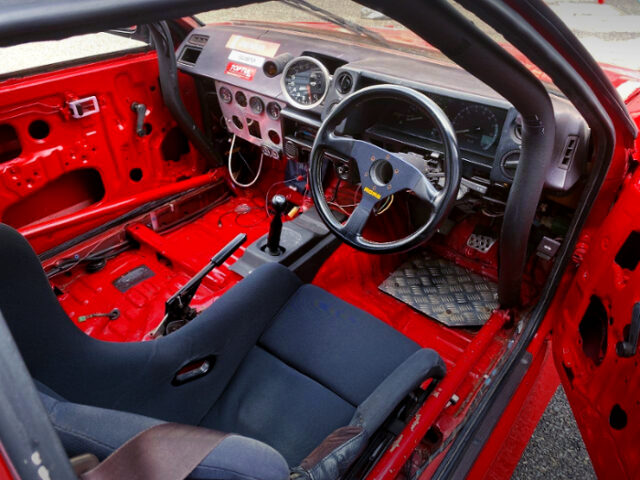 AE86 LEVIN DASHBOARD.