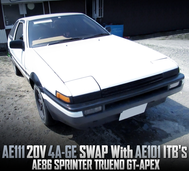 20V 4AGE SWAPPED AE86 TRUENO 3-DOOR HATCH GT APEX.