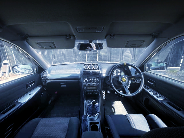 INTERIOR OF SXE10 ALTEZZA RS200 LIMITED 2.