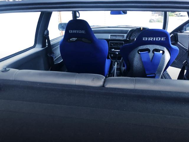 BUCKET SEATS of EF1 CIVIC HATCH 23U.