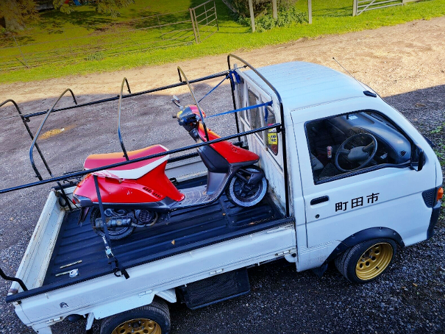 BIKE and 8th Gen HIJET.