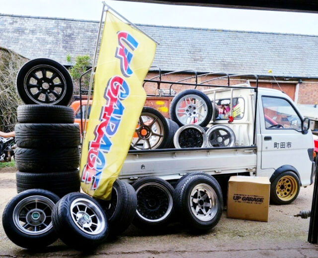 WHEELS and 8th Gen HIJET TRUCK.