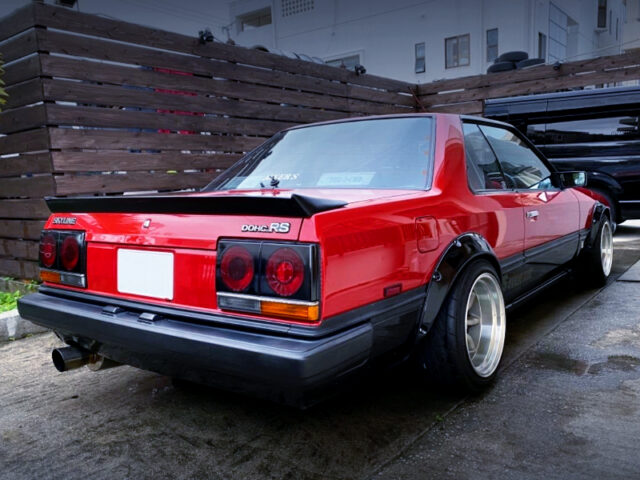 REAR EXTERIOR OF R30 SKYLINE 2-DOOR.