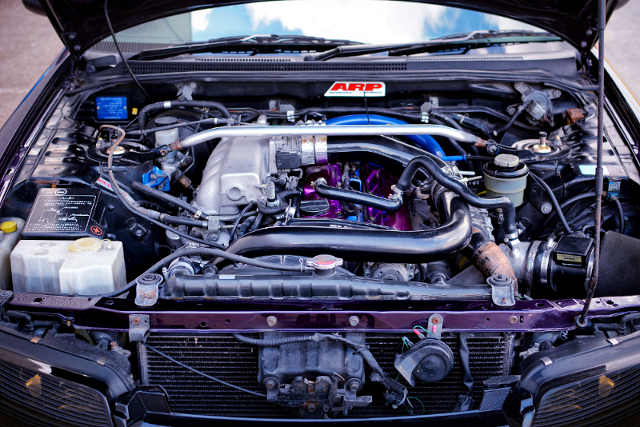 RB25DET with GT2540 TURBO.