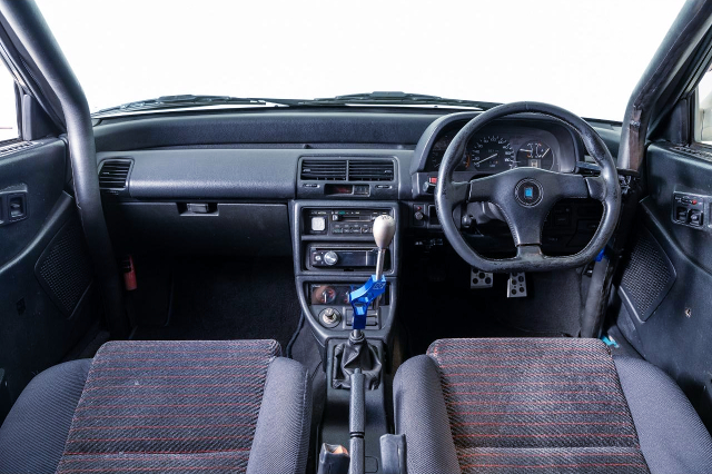DASHBOARD OF EF9 GRAND CIVIC SiR2.