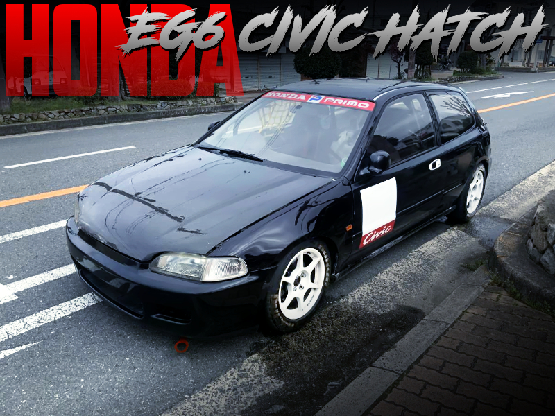 OSAKA KANJOZOKU MODIFIED EG6 CIVIC HATCH.