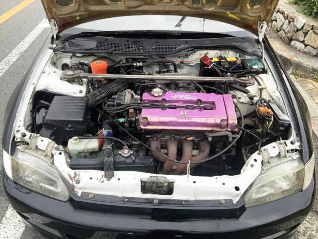 B16A 1.6L VTEC ENGINE.