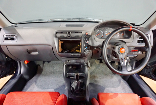 DASHBOARD. OF EJ7 CIVIC COUPE.