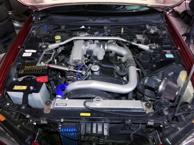 NEO 6 RB25DET TURBO ENGINE.