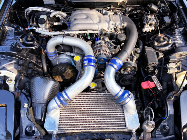 13B-REW with V-MOUNT and HKS TO4 SINGLE TURBO.