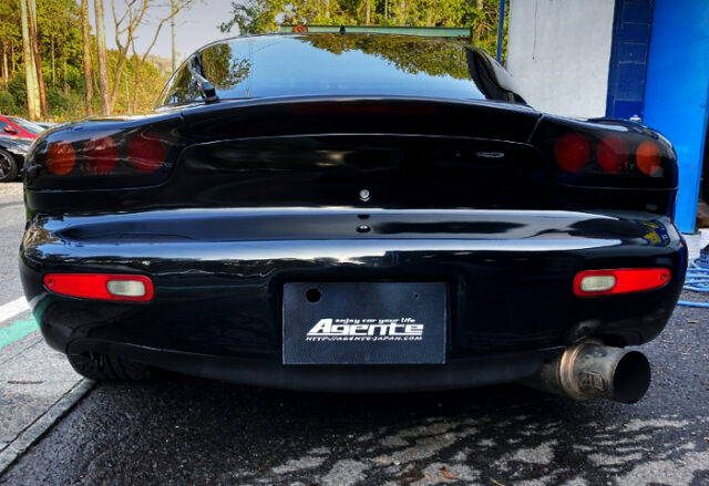 TAIL LIGHT OF FD3S RX-7 TYPE-RB BATHURST.