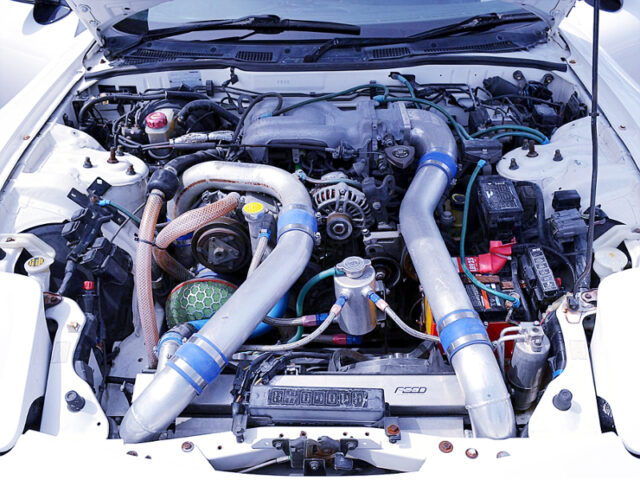FEED NUR-SPEC 13B-REW COMPLETE ENGINE with TO4S SINGLE TURBO.