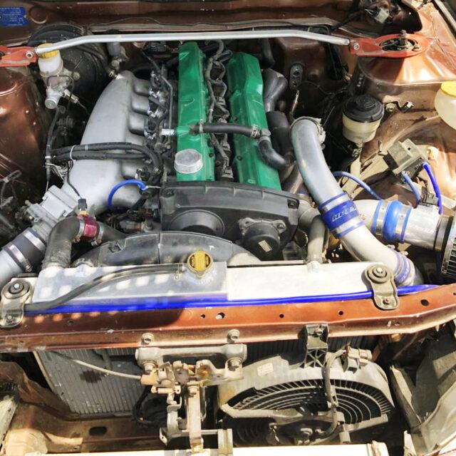 RB25DET with HKS GT2540 TURBO,