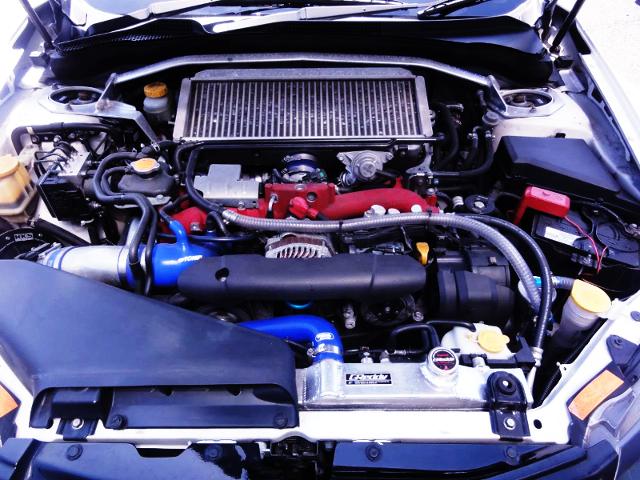 EJ207 BOXER TURBO ENGINE With HKS GT3 TURBINE.
