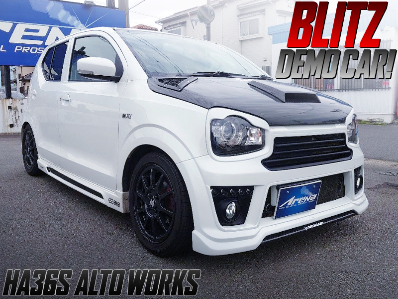 BLITZ DEMO CAR OF HA36S ALTO WORKS.