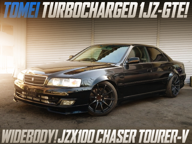TOMEI TURBOCHARGED JZX100 KOUKI CHASER TOURER-V WIDEBODY.