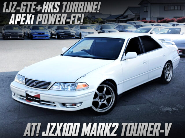 HKS TURBO CHARGED JZX100 MARK 2 TOURER-V with AUTOMATIC.