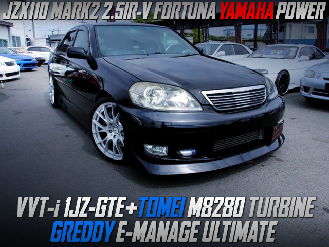 1JZ-GTE with M8280 TURBO and ULTIMATE ECU into JZX110 KOUKI MARK2.