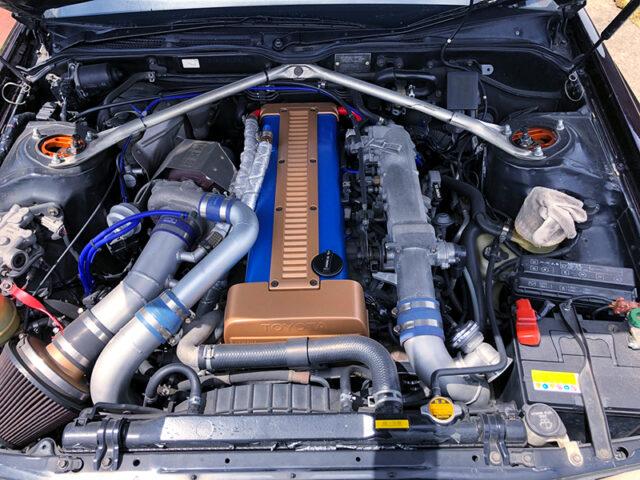 1JZ-GTE with HKS GT2835 TURBINE.