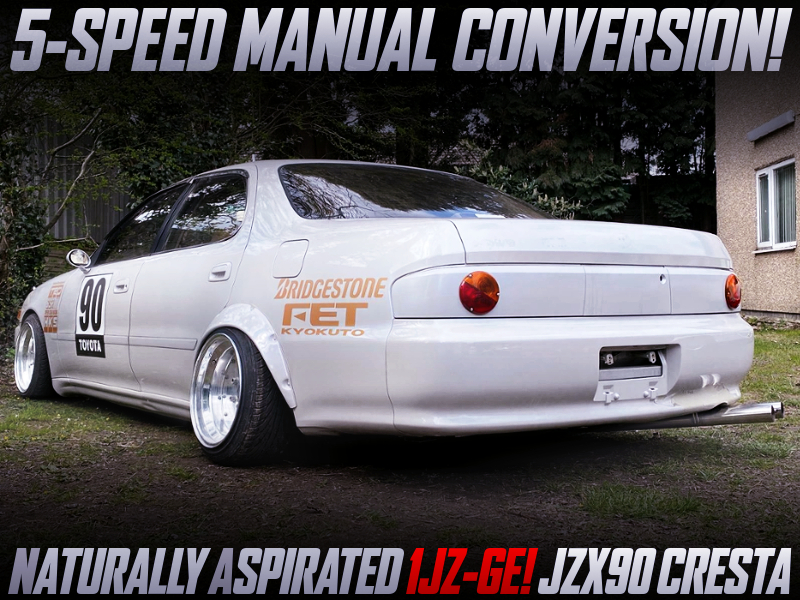 1JZ-GE with 5MT CONVERSION into a JZX90 CRESTA.