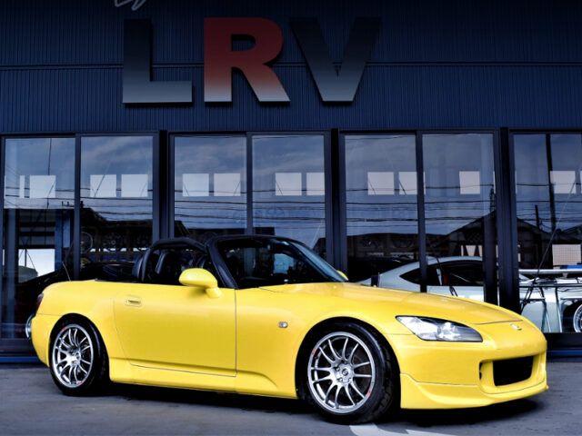 FRONT EXTERIOR OF AP1 S2000 YELLOW.