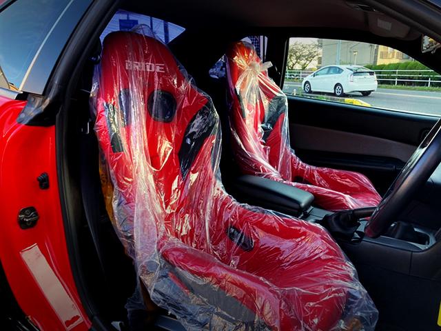 BRIDE FULL BUCKET SEATS.