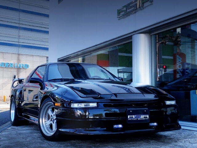FRONT EXTERIOR OF MA70 SUPRA WIDEBODY.