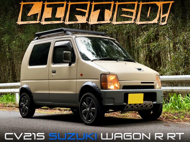 LIFTED CV21S SUZUKI WAGON R.