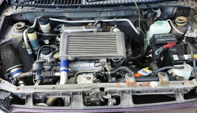 JBDET TURBO ENGINE.