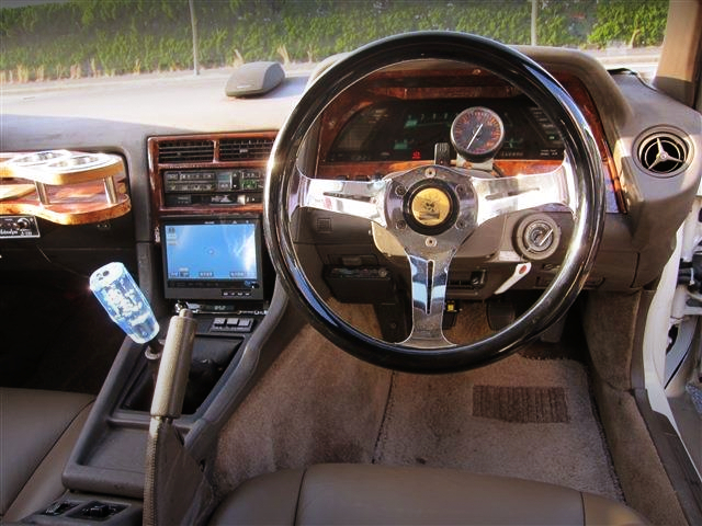 INTERIOR OF MZ21 SOARER.