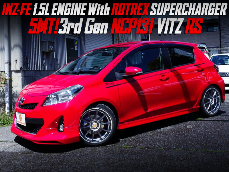 ROTREX SUPERCHARGED NCP131 VITZ RS.
